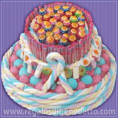 #Tarta #Chuches #Candy #Jelly #Gummy #Sweets #Marshmallow #Cakes #CandyDecor #Golosinas