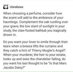 Perfume haunting