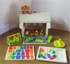 Fisher Price School House  Still have it and always will!
