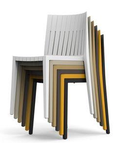 Mobilier pour restaurant et bar chaise Spritz - Sledge