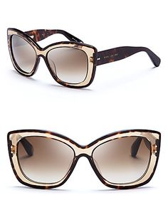 Marc Jacobs Oversized Cat Eye Sunglasses | Bloomingdale's