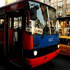 İkarus model eski otobüsler İstanbul'un faciası!