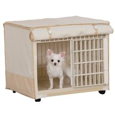 Plastic Pet Crate with Fabric Cover * Quickly view this special dog product, click the image : Dog cages