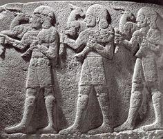 Hittite, victims ceremony, Karkamış, 900 BC, Museum of Anatolian Civilisations, Ankara