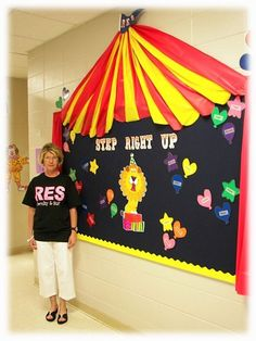 Scraphappy Southernbelle: Come One, Come All! Step Right Up & See The Amazing Circus Classroom!