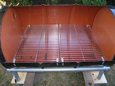 grilles acier barbecue
