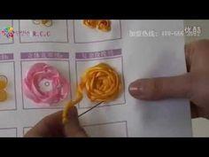 リボン刺繍つくり方講座40/41【I薔薇繍c】ケイトリリアン刺繍館