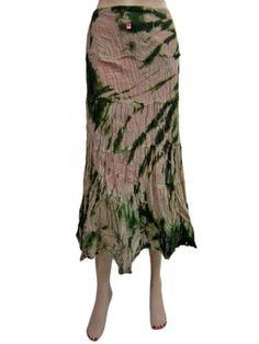 "Peasant Skirt, Womens Boho Gypsy Long Skirt, Peach Green Cotton Bohemian Skirt Length 34"" Mogul Interior,http://www.amazon.com/dp/B00BWIGU4E/ref=cm_sw_r_pi_dp_-xrsrb0DHNQ85XJE"