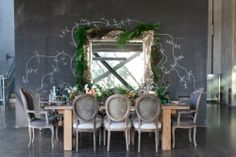 To keep the inspiration flowing in the direction of industrial chic, check out a few of our favorite industrial style wedding ideas with just the right touch of . Copper Wedding, Industrial Wedding, Modern Industrial, Top Wedding Trends, Wedding Ideas, Wedding Decor, Wedding Stuff, Wedding Inspiration, Wedding Chalk Art