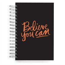 Believe You Can Journal - Black