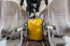 Mustard Yellow Crash Baggage
