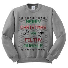 An ugly Christmas sweater that you actually wouldn't mind wearing. | 35 Awesome And Inexpensive Harry Potter Gifts