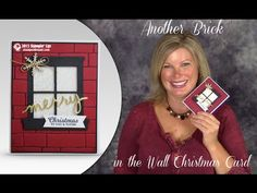 VIDEO: How to make a Brick Wall Cut Out Window Card | Stampin Up Demonstrator - Tami White - Stamp With Tami Crafting and Card-Making Stampin Up blog