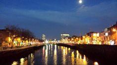 Dublin city night