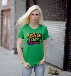 Stick Stickly - BustedTees - Image 2