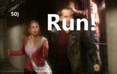 Things a Whovian should do: Run!