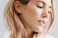 15 Cool-Girl Ear Piercings We Discovered on Pinterest via @ByrdieBeautyUK