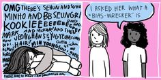 Plus, the fandom has introduced you to an entire new vocabulary that doesn't translate well into your non-K-pop life.