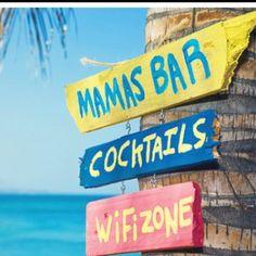 ....let's go!  <3 beach signs!