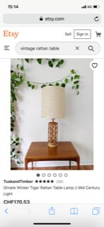 Etsy Etsy Vintage, Rattan Lamp, Lighting, Party, Home Decor, Homemade Home Decor, Light Fixtures, Fiesta Party, Lights