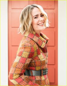 Sarah Paulson For S Magazine Summer 2018 issue - HD Photos Oceans 8, Felicity Jones, Kirsten Dunst, Elle Fanning, Old Actress, Her Smile, Famous Women, American Horror Story, Woman Crush