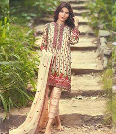 57592ca61d Buy Mina Hasan Embroidered Fabrics Vol 2 in Delhi India ( Pakistani )  Unstitched Rs 9000 Stitched Rs 11000 Kameez,Dupatta- Pure Chiffon  Bottom-Crepe