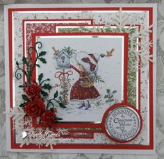 Feeding the Birds by Veritycards - Cards and Paper Crafts at Splitcoaststampers