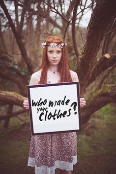 An Ethical Collaboration with Wear We Wander March 2015 When Irish Designer Bronwyn Connolly, of Ethical label Wear We Wander , g. Ethical Fashion, Vintage Lace, Flower Crown, Pretty Outfits, Etsy Store, Revolution, Aurora Sleeping Beauty, Make It Yourself, Day