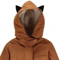 Emile et Ida Fur-Lined Parka with Cat Ears-listing