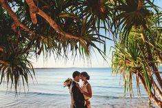 Noosa Wedding Photo. Candice & Lyndon