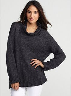 Comfy Eileen Fisher cotton sweater.