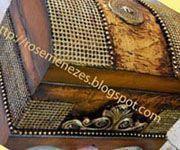 Venda de apostilas de pintura decorativa feitas em baús, envelhecimentos, folhação a ouro, decoupage, artesanato, craquele, entre outros. #pintturadecorativamadera #pinturadecorativa #decoupage