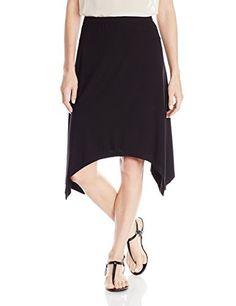6529e3089a0 Jones New York Women s Handkerchief-Hem Skirt at Amazon Women s Clothing  store  Calvin Klein Womens Chevron Texture Skirt WhiteLatte ...