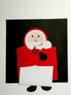Biglietto Di Natale Letterina Di Babbo Natale