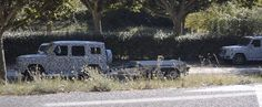 2018 Mercedes-Benz G-Class Prototypes Spied Testing Towing Capacity