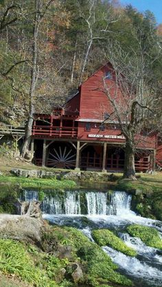 Hodgson Mill is located on Hwy 181 in Ozark County, Missouri where the road crosses Bryant Creek.