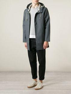 Stutterheim Parka Com Capuz - Farfetch Ootds, Parka, Vests, Must Haves, Blazers, Minimal, Normcore, Menswear, Future