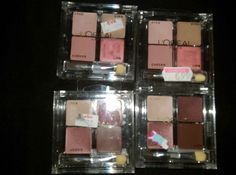 LOREAL LIPS, EYES, CHEEKS PALETTE PINK &RAISIN LOT OF FOUR #LOREAL