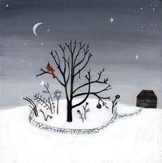 Winter Garden by cathynichols on Etsy