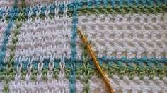 Crochet How to achieve that woven look – Tutorial  | followpics.co