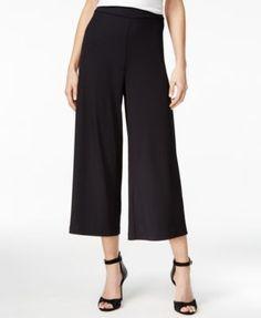 853c93daeb kensie Cropped Wide-Leg Pants & Reviews - Pants & Capris - Women - Macy's
