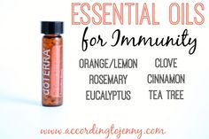 Essential Oils for Immunity [  doTERRA On Guard Beadlets Review