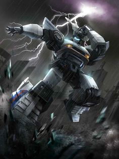 Autobot Jazz Artwork From Transformers Legends Game
