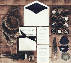 Indigo Dreaming / Wedding Style Inspiration / LANE