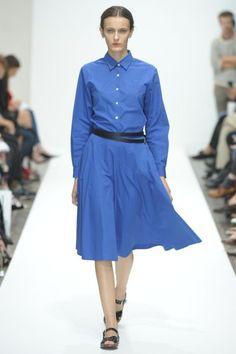 MARGARET HOWELL RTW Spring/Summer 2012 London Fashion Week