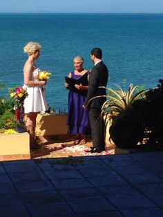 Judit and Daniel married at Caribbean Dacha in a simple ceremony.