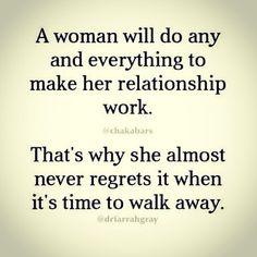 #women #relationships #ability #dedication #noregrets #walk away. #quotesofinstagram #quotesandsayings #quotestoliveby #quoteoftheday #quotesforlife #quote #quotes #quotesdaily #quotesaboutlove #quotestags  #Regram via @robynstaley13)