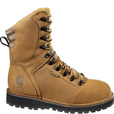 Click Image Above To Purchase: Carhartt Men's 8 In. Waterproof Lace To Toe Work Boots Carhartt Boots, Tan Leather, Leather Boots, Waterproof Boots, Shoe Boots, Shoes, Brown Boots, Combat Boots, Men Boots
