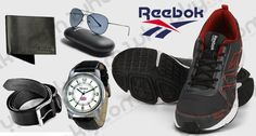 Reebok Combo of 5 at Just Rs 799  Watch, Wallet, Belt, Shoes and Sunglasses  http://goo.gl/0RqjKE  #watch #wallet #belt #shoes #sunglasses #dailynewsindian #discount #combo #offer #shopping #whaaky