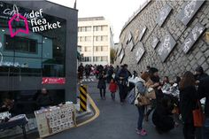 Toegye-ro 20-gil, Jung-gu, Seoul, Korea Outdoor flea market/Def flea market in JAEMIRO